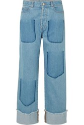 J.W.Anderson Jw Anderson Faded Jeans Mid Denim