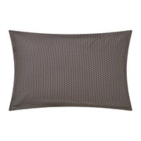 Murmur Dansu Oxford Pillowcase Charcoal