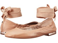 Sam Edelman Fallon Nude Linen Women's Dress Sandals Pink