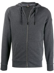 Colmar Zip Up Hoodie Grey