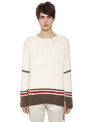 Maison Martin Margiela Wool Blend Knit Sweater