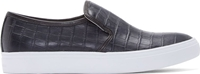Tiger Of Sweden Black Crocodile Yngve Sneakers