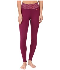 Marmot Lana Tights Magenta Magenta Terrain Women's Casual Pants Red