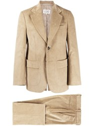 Maison Martin Margiela Corduroy Two Piece Suit Neutrals