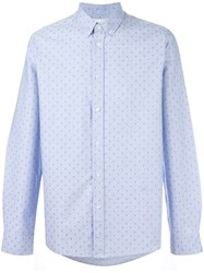 Soulland 'Goldsmith' Shirt Blue