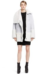 Women's Kenzo Genuine Shearling Jacket