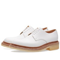 Grenson X Nick Wooster Nw2 Crepe Sole Derby Shoe White