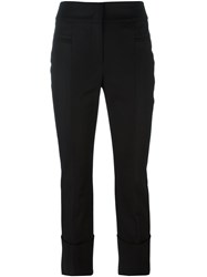Dorothee Schumacher Slim Fit Trousers Black