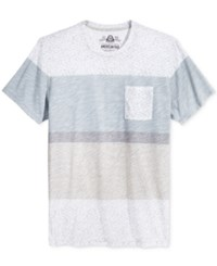 American Rag Men's Bold Variegated Stripe T Shirt Only At Macy's Pale Waters