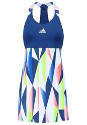 Adidas Performance Pro Sports Dress Tech Steel White Dark Blue