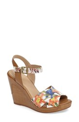 Johnston And Murphy Women's Maren Cross Band Wedge Sandal