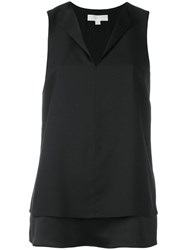 Michael Michael Kors Layered Sleeveless Top Black