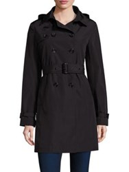 Jane Post Downtown Trench Coat Black