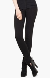 Akris Punto Stretch Jersey Pants Black