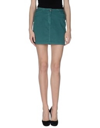 Pianurastudio Mini Skirts Green