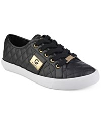 G By Guess Backer Lace Up Sneakers Women's Shoes Black