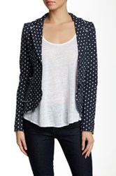 Luma Polka Dot Jacket Blue