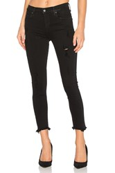 Agolde Sophie High Rise Crop Skinny Harlow Destructed