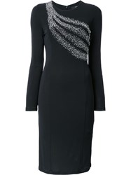 Steffen Schraut Embellished Dress Black