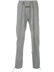 Fear Of God Core Tapered Track Pants Grey