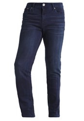 Pier One Slim Fit Jeans Ocean Blue Dark Blue Denim