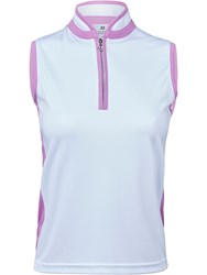 Daily Sports Marge Sleeveless Polo Shirt Pink