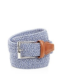 Andersons Anderson's Woven Stretch Belt Blue