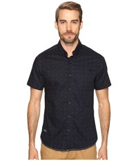 7 Diamonds Empire Short Sleeve Shirt Navy Men's Short Sleeve Button Up