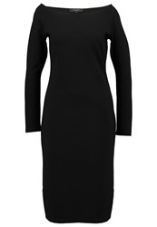 Selected Femme Sflolo Jersey Dress Black