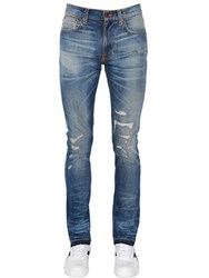 Nudie Jeans 16.5Cm Lean Dean Replica Denim
