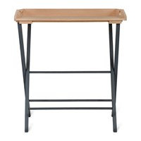 Garden Trading Clockhouse Oak Desk Tray Carbon