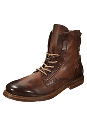 A.S.98 Baltik Laceup Boots Whisky Brown