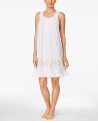 Charter Club Ruffle Trim Nightgown Only At Macy's Raining Florals
