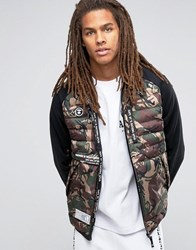Aape By A Bathing Ape Jacket With All Over Camo Print Green