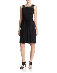 Spense Black A Line Dress