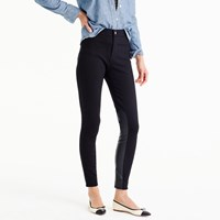 J.Crew Pixie Pant With Faux Leather