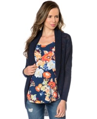A Pea In The Pod Maternity Cardigan Midnight
