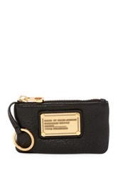 Marc By Marc Jacobs Classic Q Leather Key Pouch Black