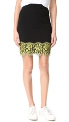 Boutique Moschino Scalloped Skirt Black