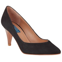 Collection Weekend By John Lewis Annecy Nubuck Court Shoes Black