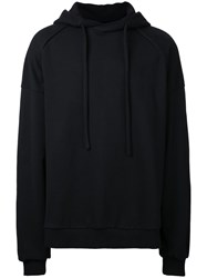 Juun.J Hooded Sweatshirt Black
