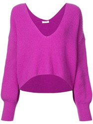 A.L.C. Melanie Sweater Purple