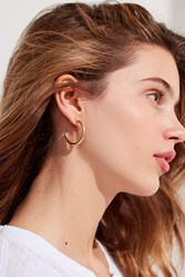 Urban Outfitters Essential Hoop Earring Gold