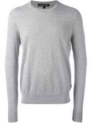 Michael Kors Crew Neck Sweatshirt Grey