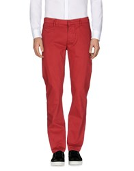 True Nyc. Casual Pants Red