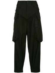 Julius Cargo Trousers Black
