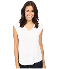 Joe's Jeans Lennox Tee White Women's T Shirt