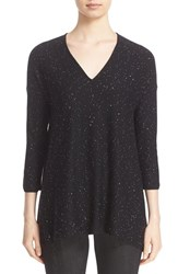 St. John Women's Collection Bristol Sequin Embellished Wool Blend Sweater