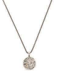 Tom Wood Viking Sterling Silver Coin Pendant Silver