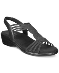 Easy Street Shoes Natara Sandals Women's Black